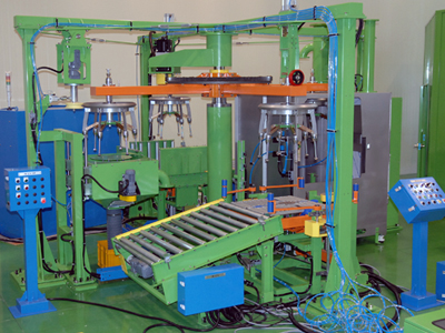 Green Tire Inside Paint Machine2